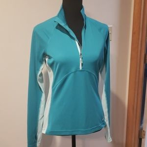 EDDIE BAUER ladies athletic shirt